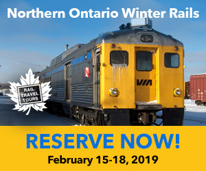 Save your spot! Ride the Northern Ontario rails this winter.