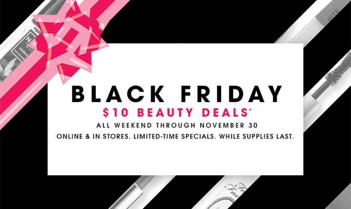 Sephora Black Friday 2014 $10 Deals