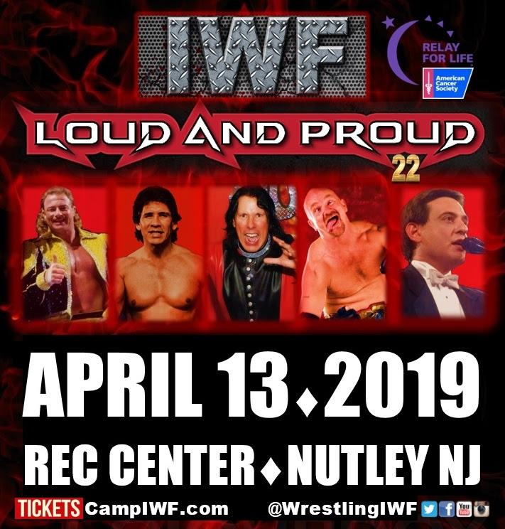 IWF Live Event | April 13, 2019 | Nutley, NJ