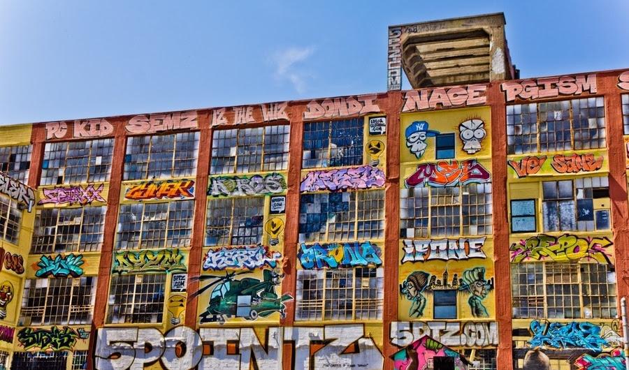 5 Artistas Pointz Graffiti Pontuação grande vitória no terno contra Developers