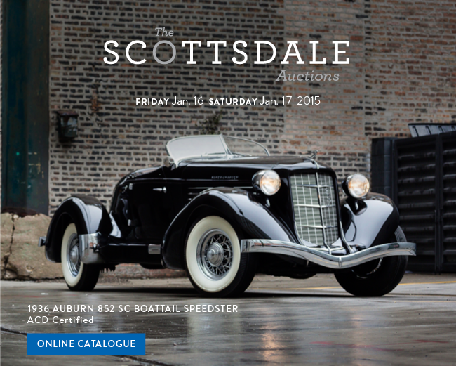 View the 1936 Auburn 852 SC Boattail Speedster