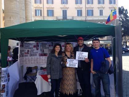 Desde Roma: Juventud del mundo reitera su apoyo a Venezuela.