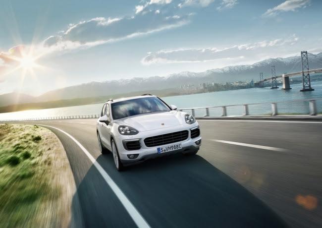 Porsche Cayenne Stylish Drive