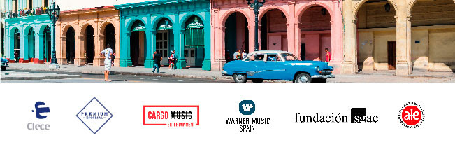 Clece, Premium, Cargo Music, Warner Music Spain, Fundación sgae, ALE