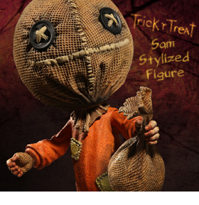 TRICK 'R TREAT SAM FIGURE