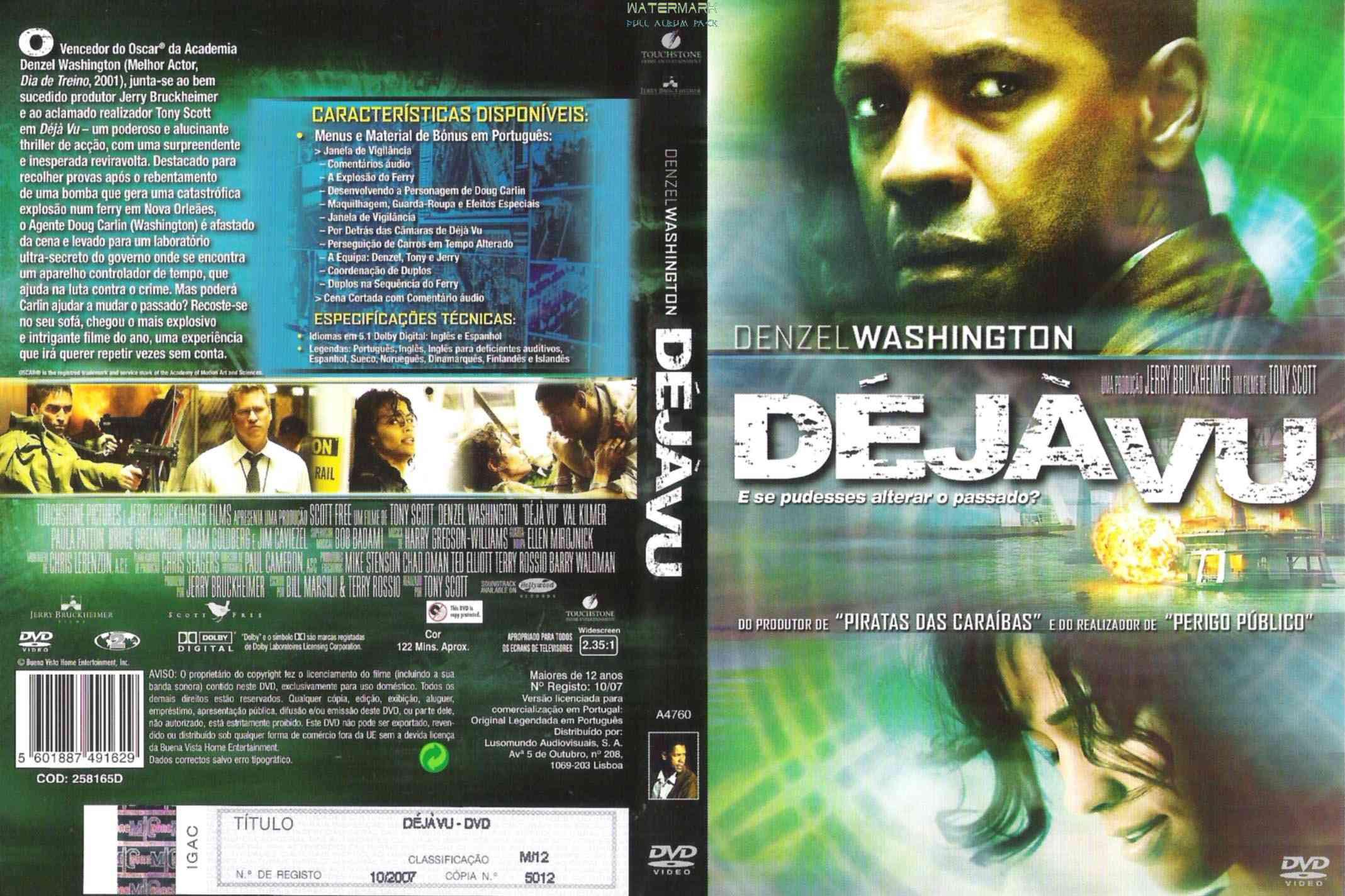 gwpUN3W Déjá Vu Torrent   BluRay Rip 1080p Dublado (2006)