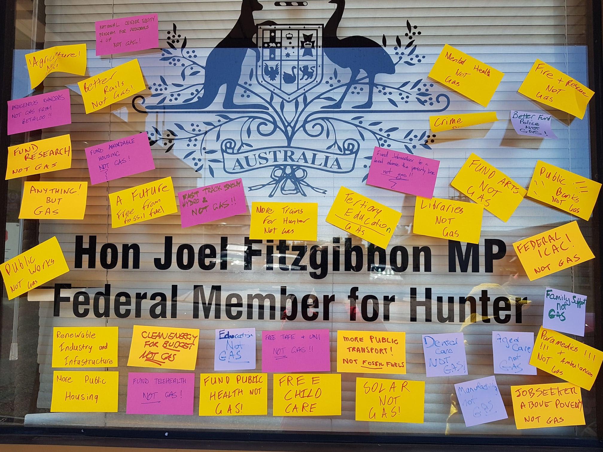 Joel Fitzgibbon office