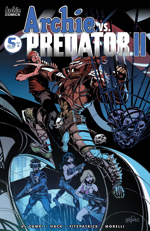 ARCHIE VS. PREDATOR 2 #5: CVR B Mandrake