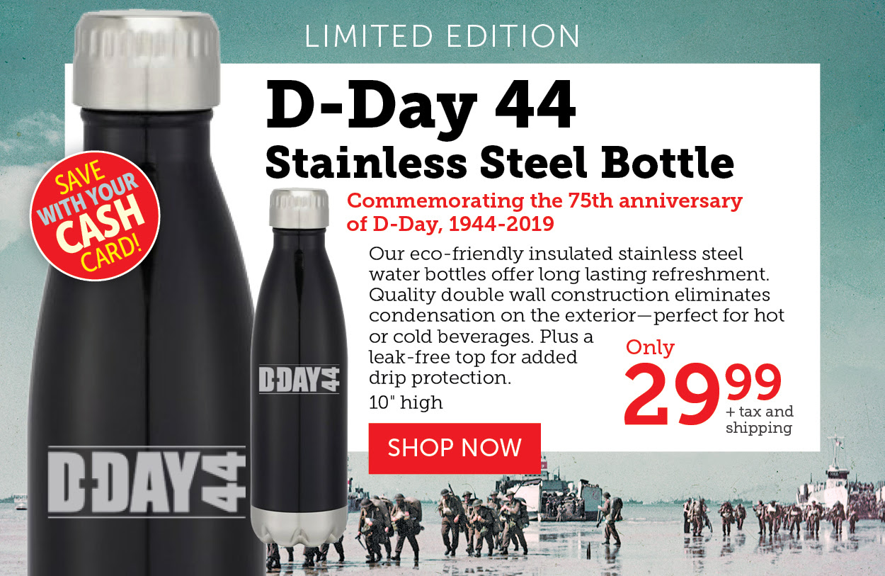 Stainless steel bottle!