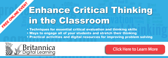 Enhance  Critical Thinking in the Classroom