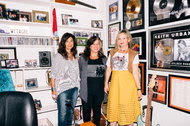 From left, Shelly Peiken, Michelle Lewis and Kay Hanley are members of the advocacy group Songwriters of North America.