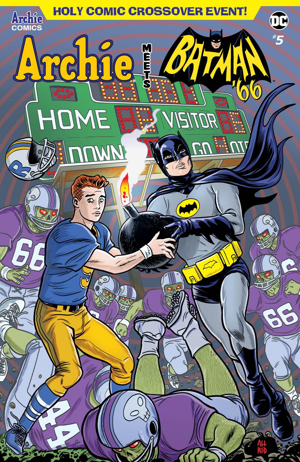 Archie Meets Batman '66 #5: CVR A Allred