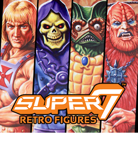 SUPER 7 RETRO MOTU FIGURES