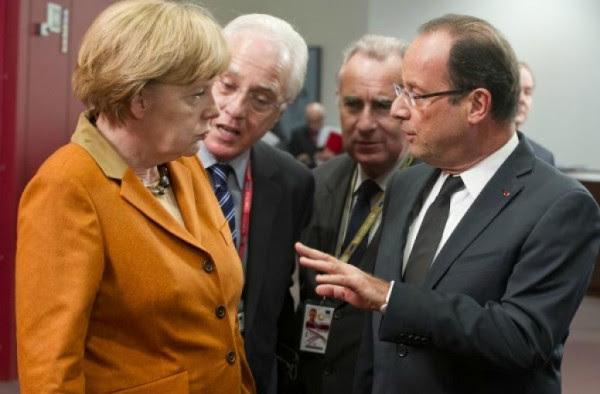 Συνάντηση Μέρκελ – Ολάντ λίγο πριν τη σύνοδο της Μπρατισλάβας
