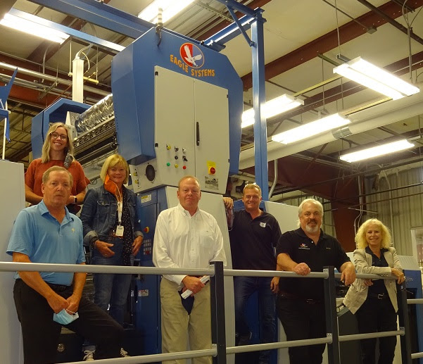 Eagle Cold Foil Makes Quality and Productivity Impact at TPC