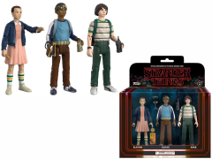 STRANGER THINGS ACTION FIGURE THREE PACK