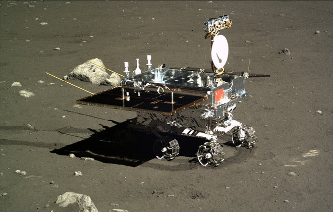 picture of Chinese Lunar Rover