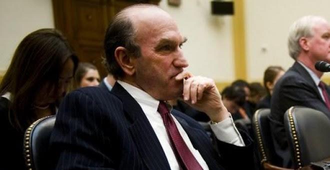 Foto de archivo de Elliott Abrams, en una comparecencia en el Congreso estadounidense, en 2011, cuando era alto cargo de la Administración de George Bush. AFP PHOTO/Jim WATSON