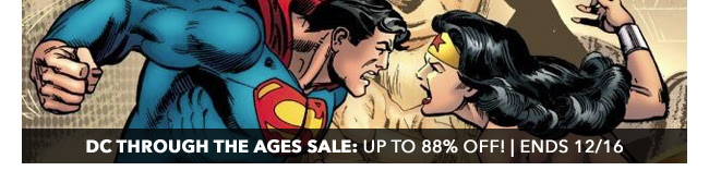 DC Through the Ages Sale: up to 88% off! | Ends 12/16
