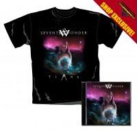 SEVENTH WONDER - Tiara - Ltd.CD+Shirt-Bundle (CD Jewelcase + T-Shirt M) - SHOP EXCLUSIVE !