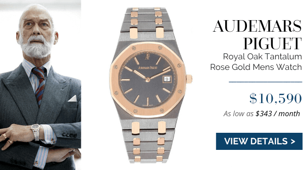 AP Royal Oak Rose Gold Mens Watch