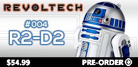 STAR WARS REVOLTECH #004 - R2-D2