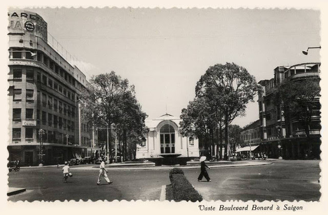 Saïgon - Vaste boulevard Bonard