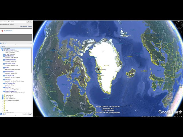 Earthquake Causes TSUNAMI - HITS VILLAGE IN GREENLAND  Sddefault