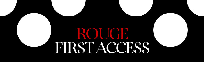 Save The Date, Rouge gets 20% OFF*