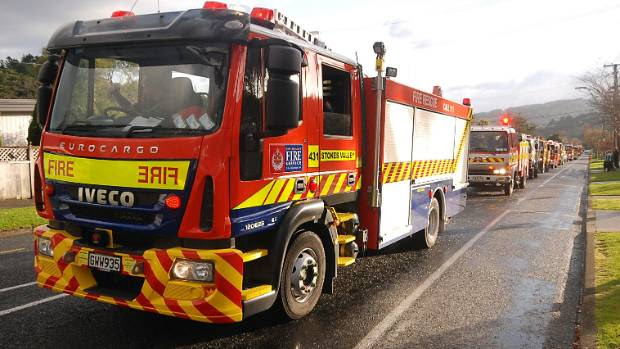 Fire crew are investigating a small blaze at Edgewater College in Auckland.