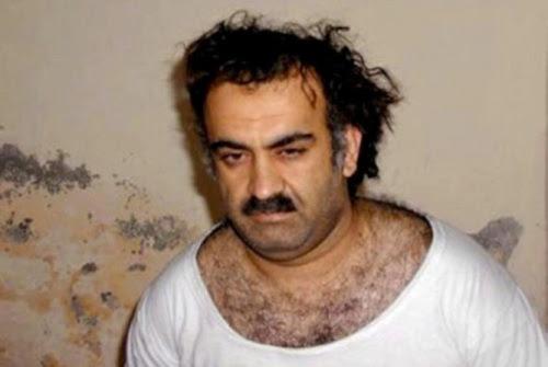 Jalid Sheij Mohamed, autoproclamado Culpable de los atentados del 11 de septiembre. Ha sido sometido 82 vez a la técnica de tortura conocido como «waterboarding», ahogamiento simulado.