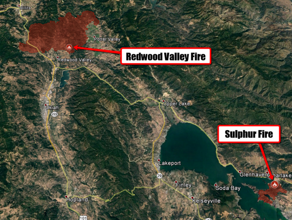 Redwood Valley Fire Map Until Further Notice There Is No Weather || Conservation Minnesota