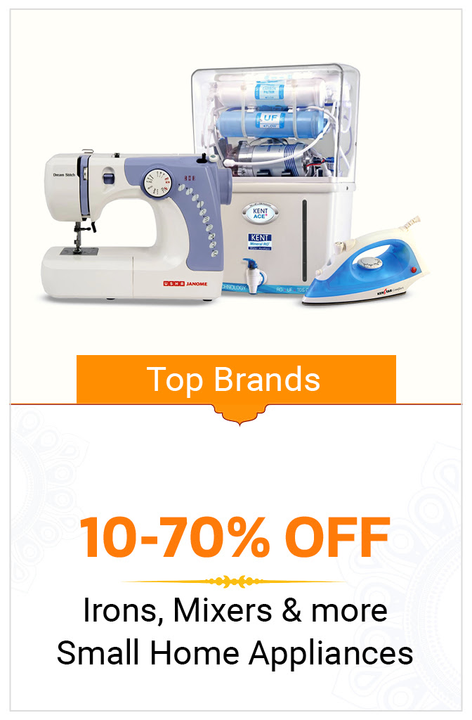 Small Home Appliances 10-70% Off