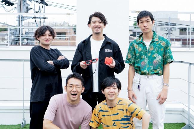 左から、 MESON本間、 小林、 梶谷、 博報堂DYホールディングス目黒、 小坂