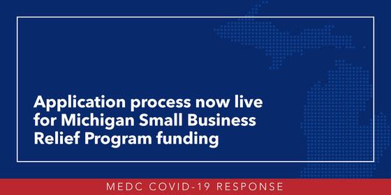 Michigan Small Business Relief Program