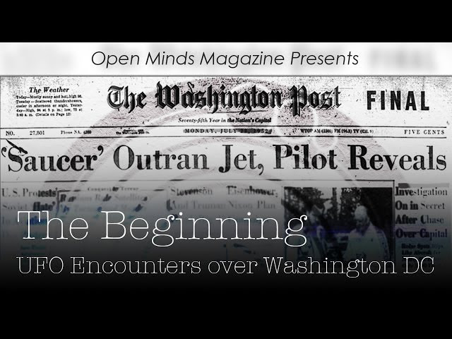 The Beginning: UFO Encounters over Washington D.C. Sddefault