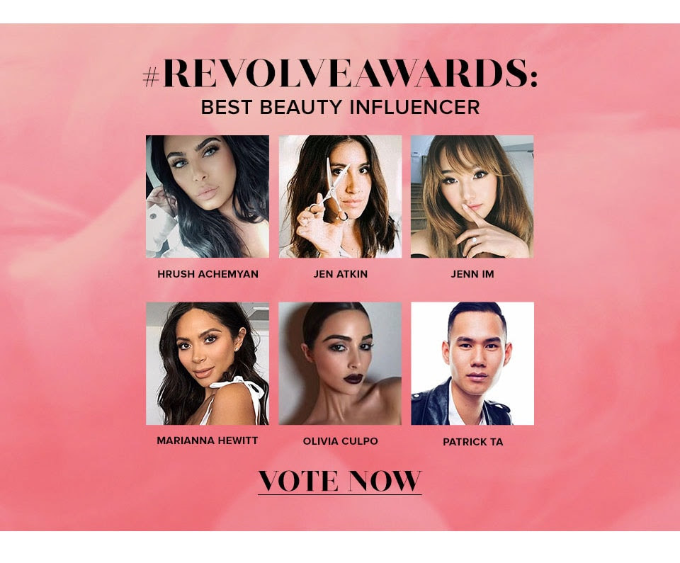 #REVOLVEAWARDS Beast beauty influencer. Vote now.