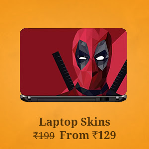 Laptop Skins from Rs.129