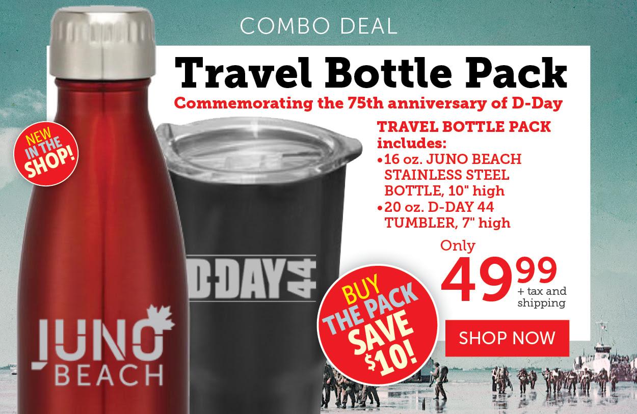 Travel Bottle Combo Deal