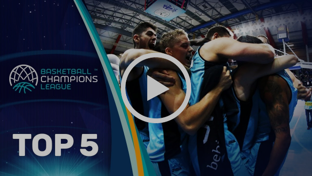 Top 5 Plays - Wednesday - Gameday 7 - Basketball Champions League 2017-18