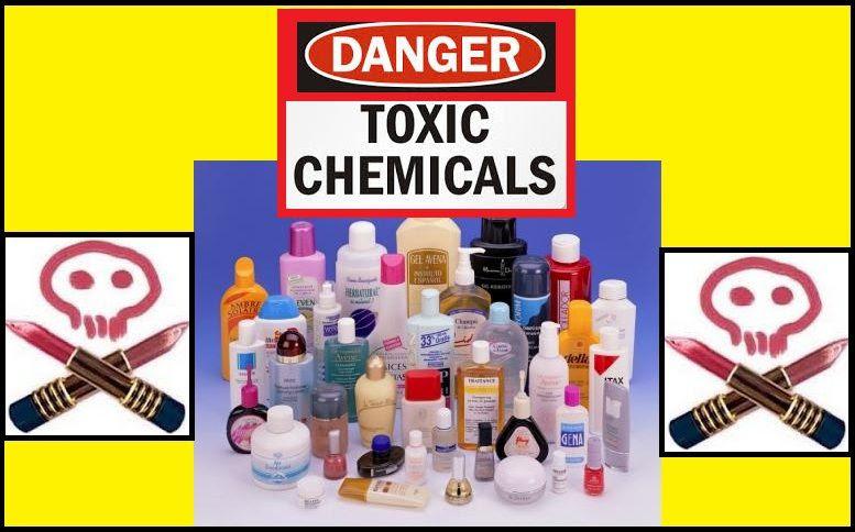 12 productos químicos peligrosos presentes en los cosméticos.