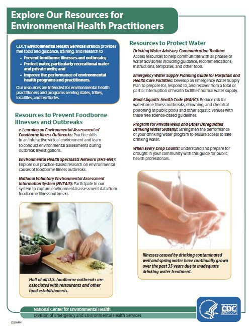Explore our Resources for Environmental Health Practitioners and Programs