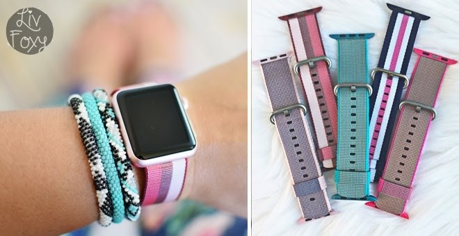 HOT!! Nylon Apple Watch Bands.