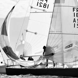 J/24 sailing at GP Crouesty
