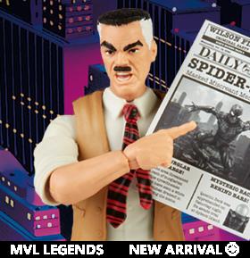 Spider-Man Marvel Legends Retro Collection J. Jonah Jameson
