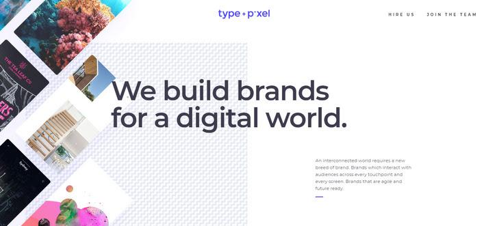 Тенденции в веб-дизайне 2020: применение паттерна в подложке