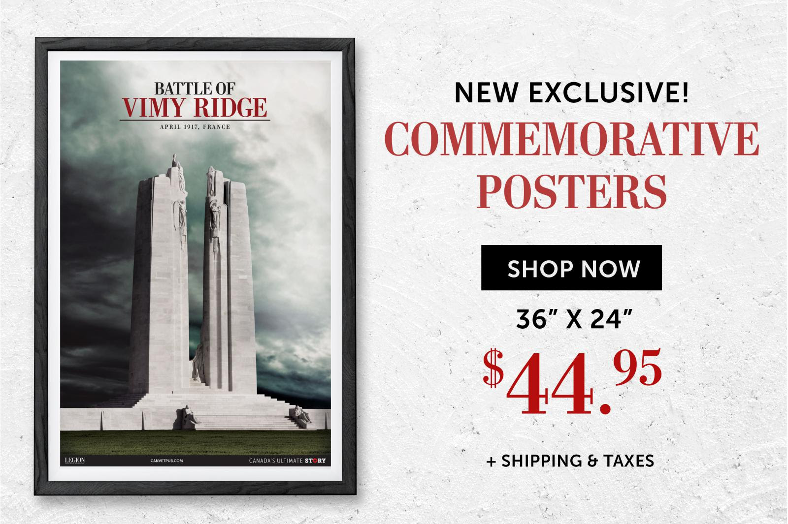 Vimy Ridge Poster