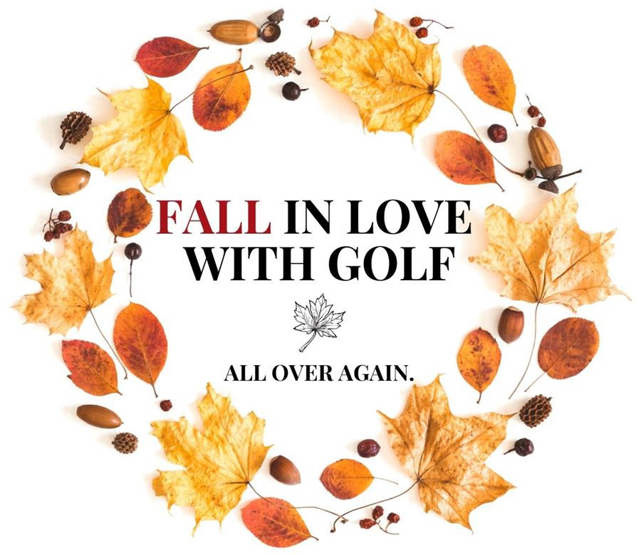 Fall in love with golf all over again.