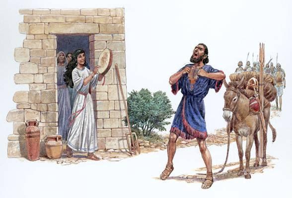 Jephthah, by CindyGirl