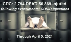 Fatality & Injury Update - US & UK CDC-VAERS-report-4.5.21-768x461-1-300x180